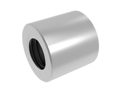 Трапецеидальная гайка 12x3 (сталь)