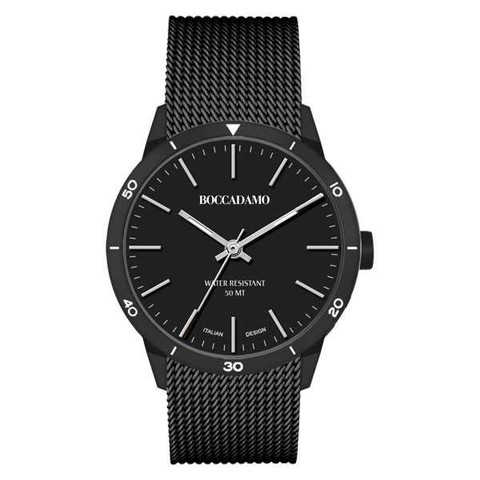 Часы Navy Black NV014 BW/BW