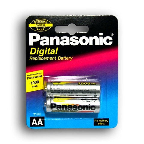 Аккумуляторы Panasonic Ni-MH R03 1000mAh /2bl