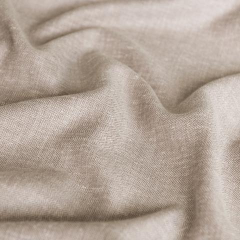 Ткань под лен Кенна коричневый