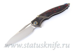 Нож Rikeknife RK1902 - R Red CF M390