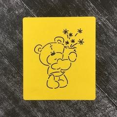 Мишка Тедди №14 с букетом цветов