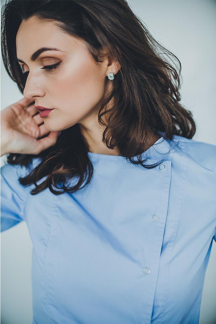 Блуза женская медицинская М 272-к