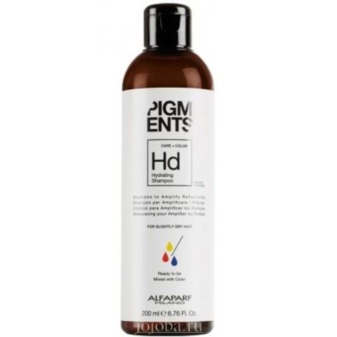 Alfaparf Milano Pigments: Шампунь увлажняющий для слегка сухих волос (Hydrating Shampoo), 200мл