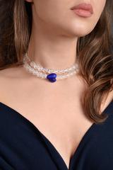 Ожерелье Cuori синее