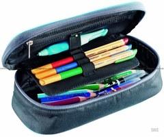 Пенал для школы Deuter Pencil Case black flora - 2