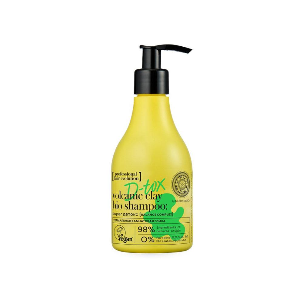 Шампунь для волос жирных у корней D-Tox Super детокс Hair Evolution