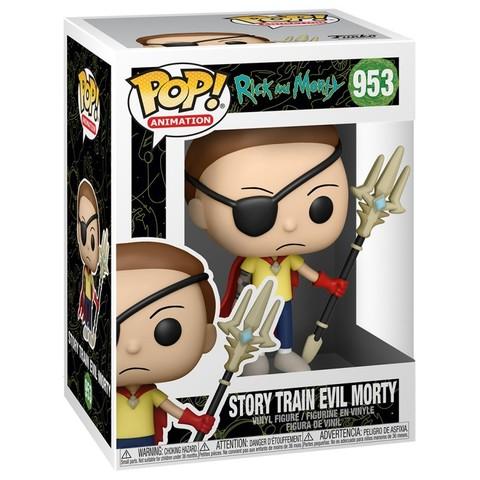 Фигурка Funko POP! Animation Rick & Morty Story Train Evil Morty 55247