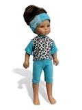Большой комплект белья - На кукле. Одежда для кукол, пупсов и мягких игрушек.