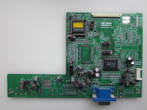 MAIN плата монитора GREEN MOUNT GM-1710