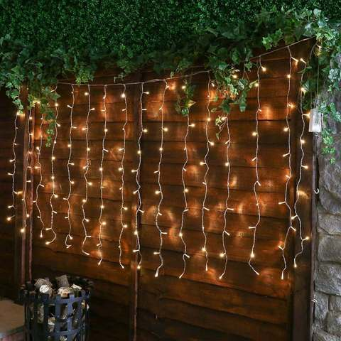 LED гирлянда штора 1,5 на 1,5 метра