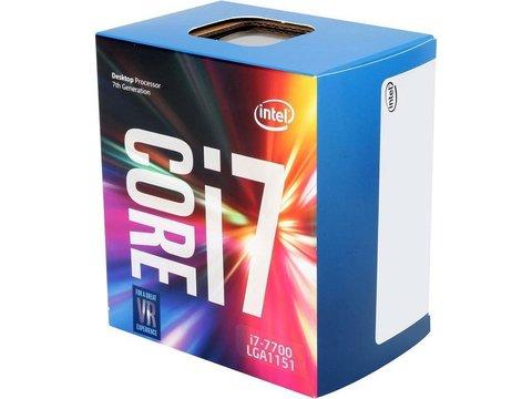 Процессор Intel Core i7-7700 Kaby Lake (3600MHz, LGA1151, L3 8192Kb)