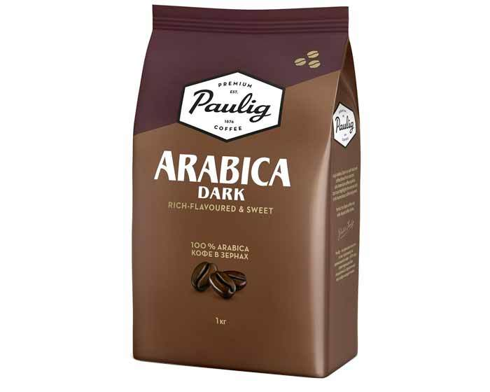 Paulig Arabica Dark, 1 кг
