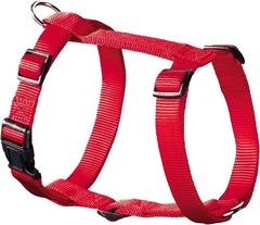 Шлейка для собак, Hunter Smart Ecco Sport S (30-45/33-54 см), нейлон красная