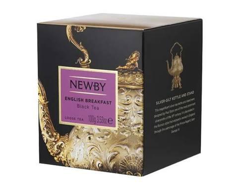 Чай черный листовой Newby Heritage English breakfast, 100 г