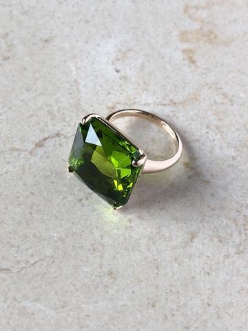 Кольцо Виктори, светло-зеленый