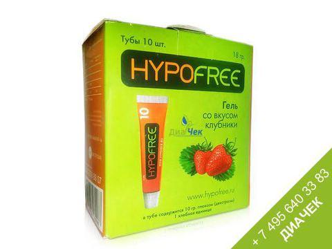 ГипоФри (HypoFree) гель для купирования гипогликемии