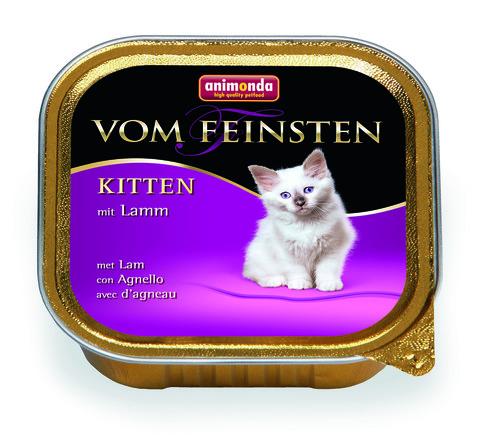 Консервы Animonda Vom Feinsten Kitten с ягненком для котят