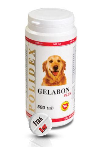 Полидэкс  Гелабон плюс для собак   500 таб.