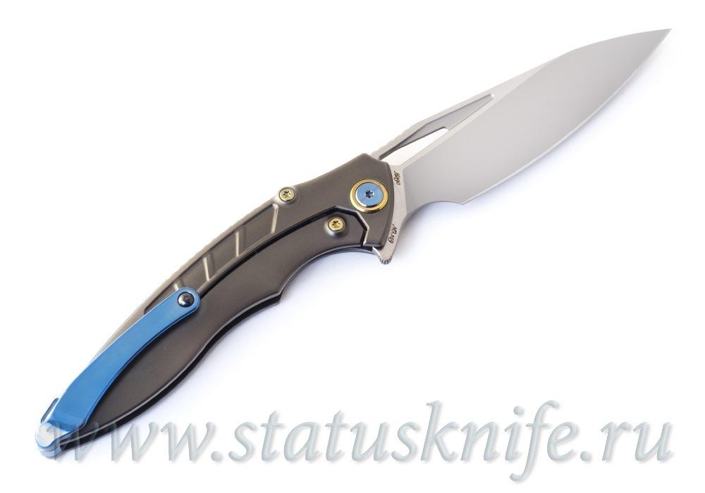Нож Rikeknife RK1902 - R Red CF M390 - фотография