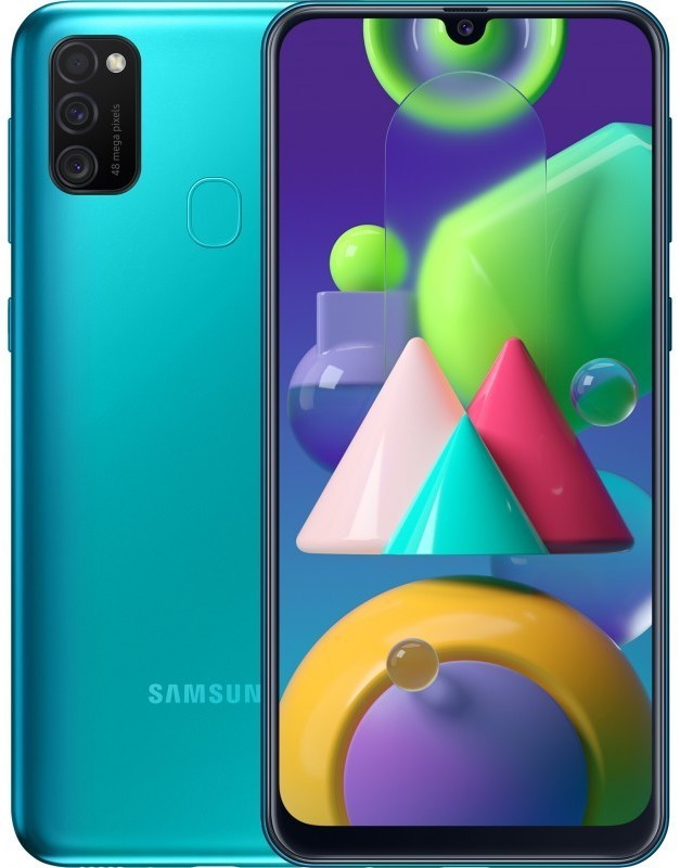 Samsung Galaxy M21 4/64GB Зеленый green1.jpg
