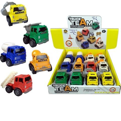 Машинки в ассортименте TRUC TEAM № 1, 1кор*48бл*12шт