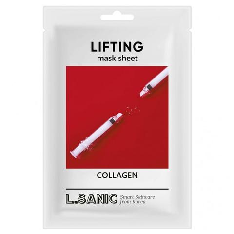L'Sanic Маска тканевая с эффектом лифтинга - Collagen lifting mask sheet, 25 мл