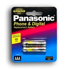 Аккумуляторы Panasonic Ni-MH R03 850mAh /2bl