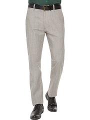BPT000935 брюки мужские, серый меланж