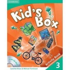 Kid's Box Level 3 Activity Book with CD-ROM
