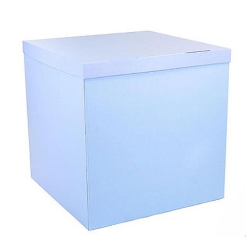Коробка голубая