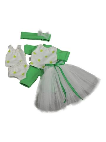 Большой комплект белья - Салатовый. Одежда для кукол, пупсов и мягких игрушек.