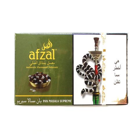 Табак для кальяна Afzal Pan Masala Supreme 50 гр.