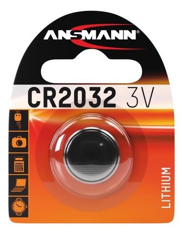 Батарейка CR 2032 ANSMANN 3V (Premium)