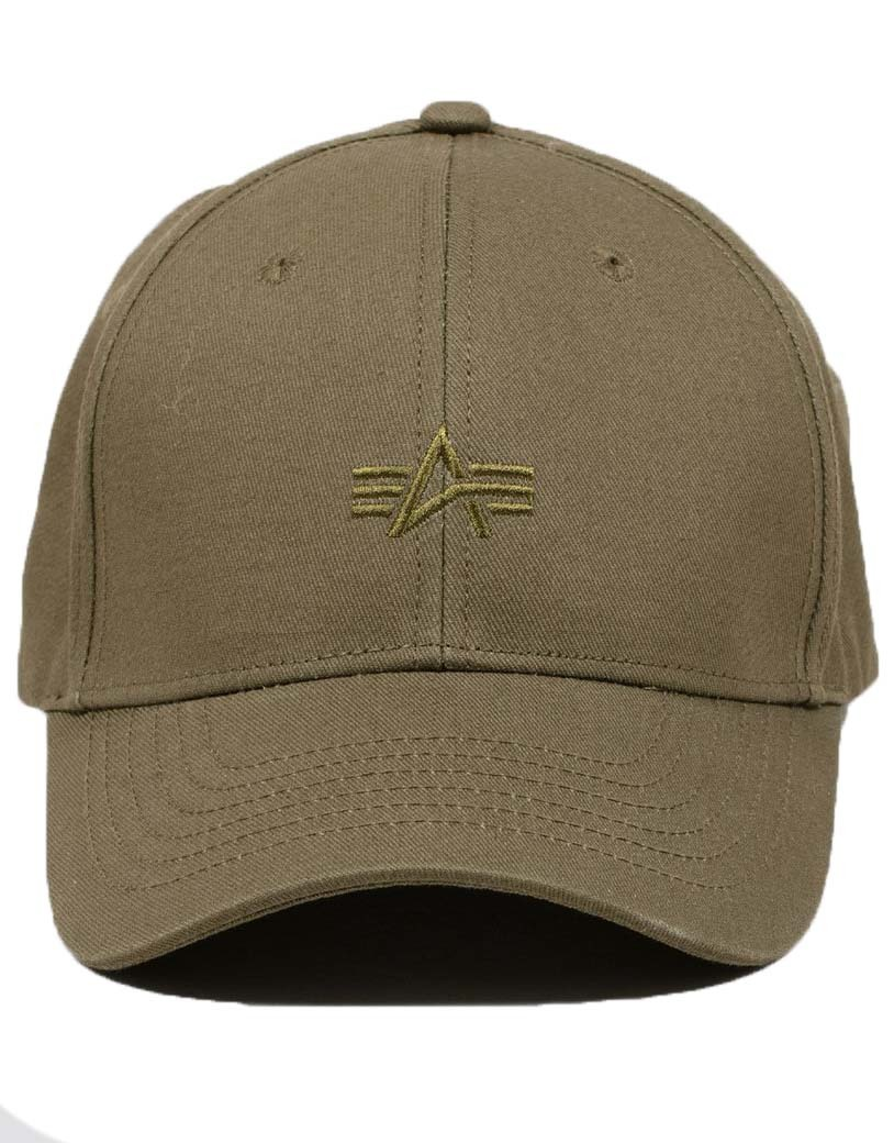 Кепка Alpha Embroidered Cap (олива - olive)