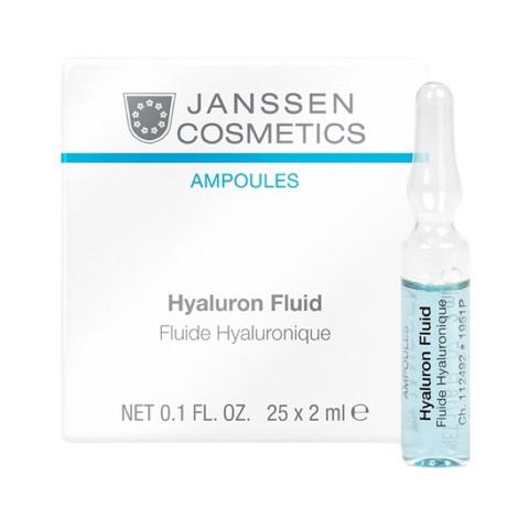 JANSSEN | Ультраувлажняющая сыворотка с гиалуроновой кислотой / Hyaluron Fluid