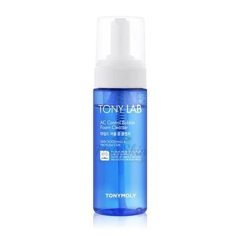 TONY MOLY Пенка пузырьковая для умывания проблемной кожи лица Tony Lab AC Control Bubble Foam Cleanser 150 мл.