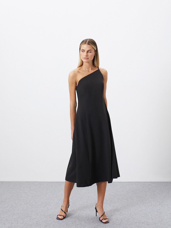 Платье Mirel с асимметричным верхом