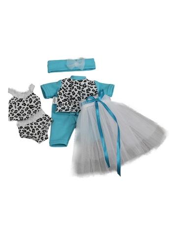 Большой комплект белья - Бирюзовый. Одежда для кукол, пупсов и мягких игрушек.