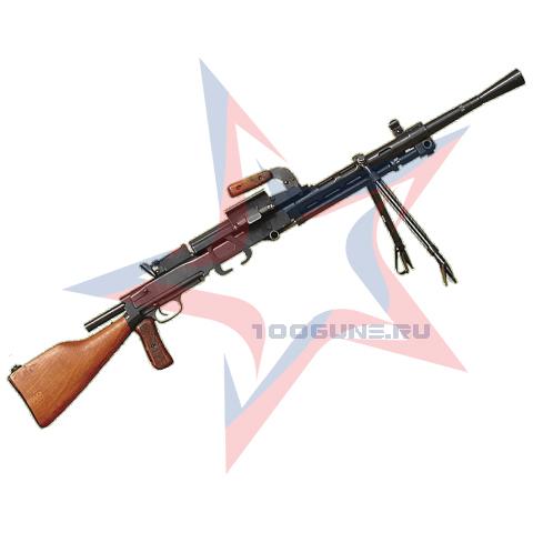 Охолощенный РП-46 ротный пулемет