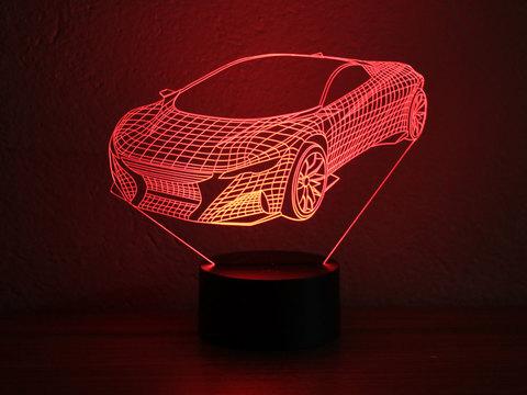 Art-Lamps Спорткар