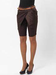 8051-3 бриджи женские, темно-коричневые