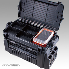 Коробка под приманки MEIHO WATERPROOF CASE WG-2 CLEAR ORANGE