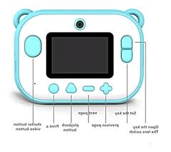 Детский фотоаппарат моментальной печати инструкция управления