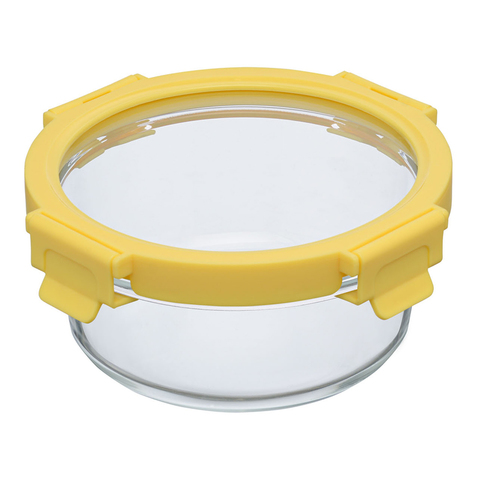 Набор круглых контейнеров для запекания и хранения Smart Solutions, желтый, 3 шт.