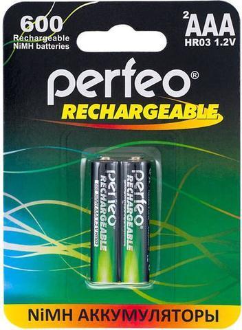 Аккумуляторы Perfeo R03, AAA 600mAh Ni-MH