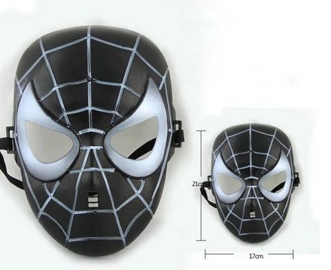 Маска Человек Паук в черном цвете