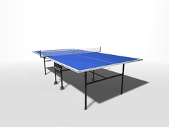 Теннисный стол всепогодный пластиковый на роликах WIPS СТ-ВПР (61100)