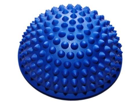 Массажная балансировочная полусфера с заострёнными массажными шипами: YJ-D1