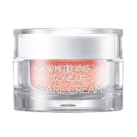 May Island Whitening Tone Up Pearl Cream осветляющий капсульный крем с жемчужной пудрой
